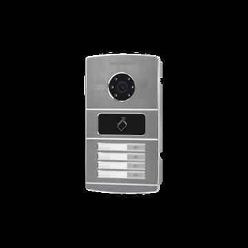Imagen de HIKVISION Video Portero IP camara DS-KV8402IM Metal 4 pulsadores