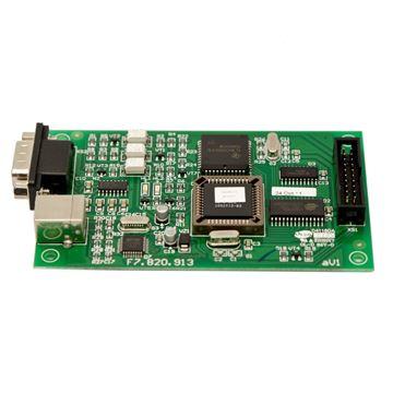 Imagen de GST P-9933 tarjeta comunicación serial/USB  RS 232 (conecta panel GST200/ M200 a GUI o PC programador)