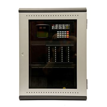 Imagen de GST 200N-SP panel de incendio inteligente hasta 2 lazos NEGRA