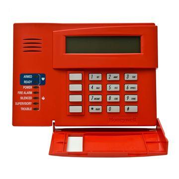 Imagen de HONEYWELL 6160CR-2 teclado rojo panel VISTA incendio UL