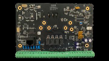 Imagen de HIKVISION DS-PHA64-B Panel alarma hibrido 8 zonas cableadas expandible  a 64