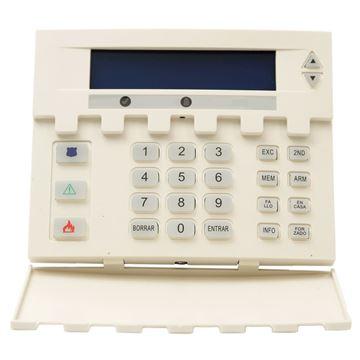 Imagen de POSONIC LCD PS-700 teclado LCD p/abajo