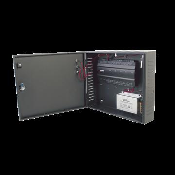 Imagen de ZKTECO INBIO 460 package B (gabinete metalico y fuente) panel accesos 4 puertas (max 8 lectoras), p/software ZKAccess