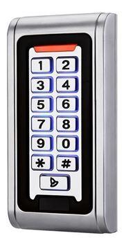 Imagen de ZKTECO SA521 control de accesos autonomo/salida wiegand EM125 + teclado. Metalico IP-66. Altas/bajas por teclado