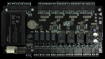 Imagen de ZKTECO C3-400 Package B (gabinete metalico y fuente) panel accesos de 4 lectoras para software ZKAccess