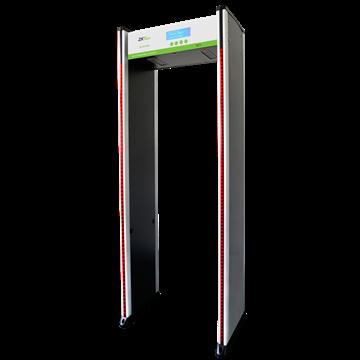Imagen de ZKTECO D2180S arco detector de metales 18 zonas