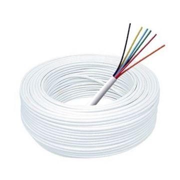 Imagen de MULTITOC cable alarma rollo 100mts aleación (30% cobre y 70% aluminio), 6 pares 0,5mm