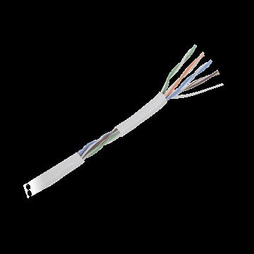 Imagen de VANGUARD cable alarma rollo 100mts aleación (30% cobre y 70% aluminio), 4 pares 0,5mm