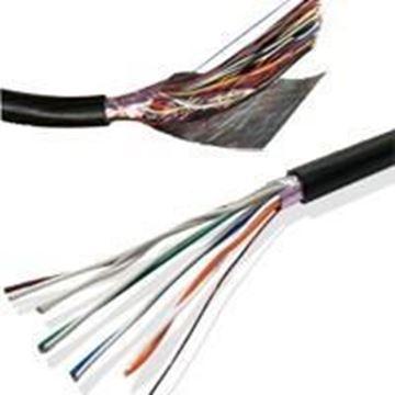 Imagen de VANGUARD cable alarma rollo 100mts aleación (30% cobre y 70% aluminio), 6 pares 0,5mm EXTERIOR