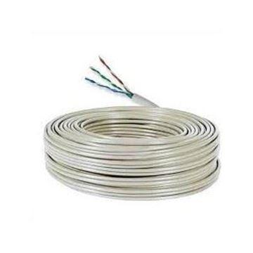 Imagen de VANGUARD cable alarma rollo 100mts aleación (30% cobre y 70% aluminio), 3 pares 0,5mm