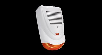 Imagen de VANGUARD VG-400 sirena exterior policarbonato naranja