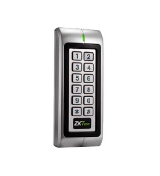 Imagen de ZKTECO MK-V(ID) control de accesos autonomo proximidad EM125 + teclado. Metalico y antivandalico IP66