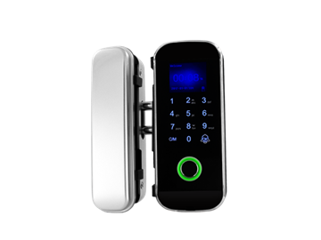 Imagen de SECUKEY Cerradura inteligente biométrica con teclado para vidrio CD-108