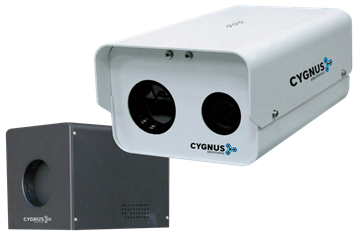 Imagen de CYGNUS TBM-732 camara termografica con blackbody para trafico masivo